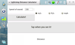 Lightning Distance Calculator